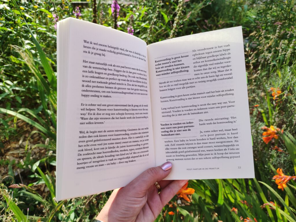 bladzijde boek verlost en nu